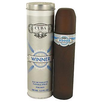 Cuba winnaar door Fragluxe Eau De Toilette Spray 3.4 oz/100 ml (mannen)