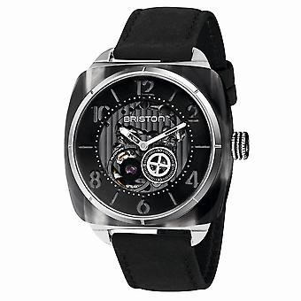 Briston 201042.SA.G.1.CH Streamliner Skeleton Grey Acetate Wristwatch