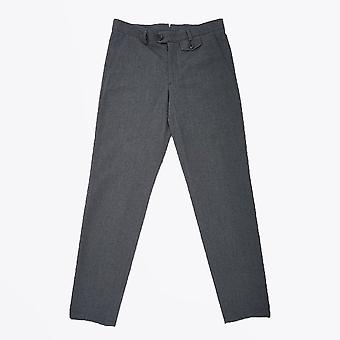 Oliver Spencer  - Fishtail Wool-Blend Trousers - Grey