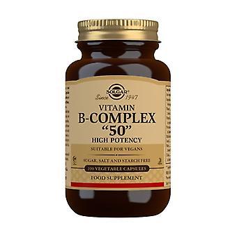 فيتامين ب مجمع 50 100 كبسولات نباتية