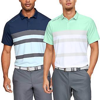 Under Armour Herre ISO-chill Block Golf Polo skjorte