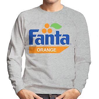 Fanta Orange Retro 1980s Logo Camiseta de Hombre