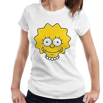 The Simpsons Lisa Face Women's T-Shirt