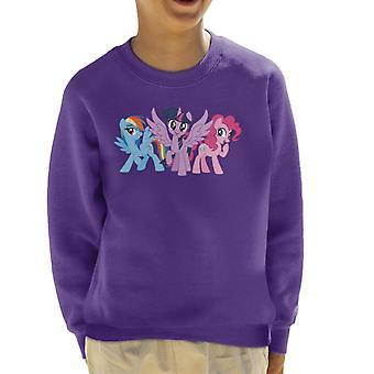 My Little Pony Main Characters Giggling Kid's Sweatshirt