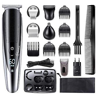 Rechargeable Electric Razor For Hair Clipper Men - 5 In 1 Trimmer Machine