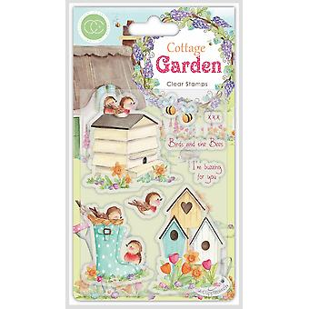 Craft Consortium Cottage Garden Birds and the Bees Stamps