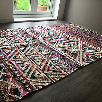 Eco Kelim Rugs In Multicolour