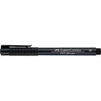 فابر كاستيل الحبر الهندي الفنان القلم فرشاة 157 الظلام النيلي