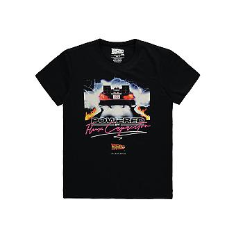 Official Back To The Future Powered By T-Shirt