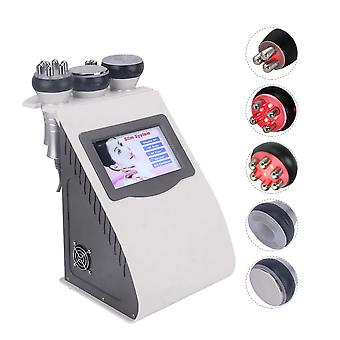 5 In 1 Ultrasonic Liposuction - 40k Cavitation Body Slimming Machine Vacuum Multipolar Beauty Device For Face And Body
