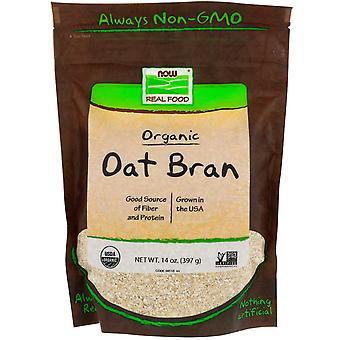 Ora Alimenti, Cibo Reale, Bran di avena biologica, 14 oz (397 g)
