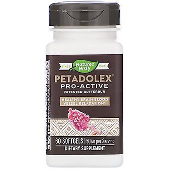 Nature's Way, PETADOLEX, Pro-Active, 50 mg, 60 Softgels