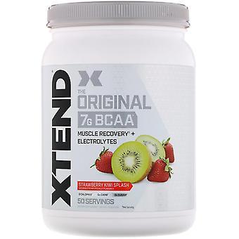 Xtend, Xtend, The Original 7G BCAA, Strawberry Kiwi Splash, 1.5 lb (700 g)