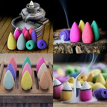Natural Tower Cones Lavender Jasmine Backflow Incense Cones Hollow Buddhism