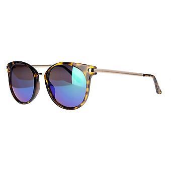 نظارات شمسية Unisex Cat.3 بني / ذهبي / أزرق (AML19015 C)