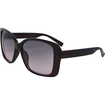 Sonnenbrille Damen    Schmetterling Kat. 3 braun/grau (6550-B)