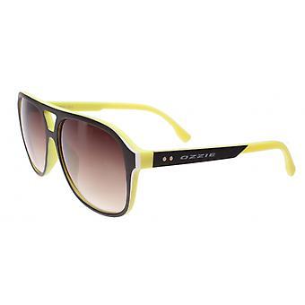 Sunglasses Unisex Sport Yellow / Black