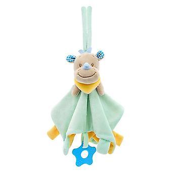 Härlig Baby Mjuk Plysch Djur Doll Leksak - Teethers För Spädbarn