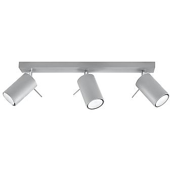 Sollux RING - 3 Light Spotlight Bar Grey, GU10