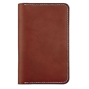 Red Wing Passport Wallet Unisex Wallet in Red Mahogany