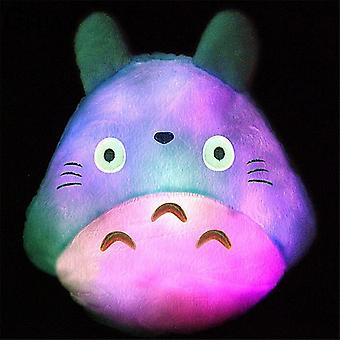 35*30cm Totoro Led Luminous Plush Pillow Lovely Totoro Wedding, Christmas,