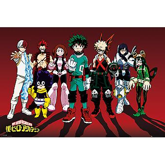 My Hero Academia Line Up Maxi Poster
