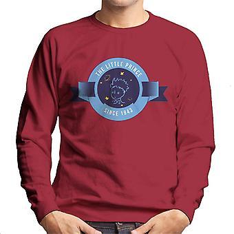 The Little Prince Circle Badge 1943 Men's Sweatshirt