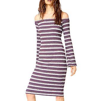 Socialite | Socialite Off The Shoulder Long Sleeve Dress