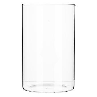Minimalistický úložný pohár - okrúhly škandinávsky univerzálny sklenený kanister - 1 liter
