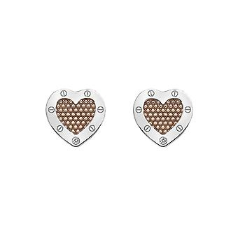 Hete diamanten lock in liefde Beaded Earrings DE538