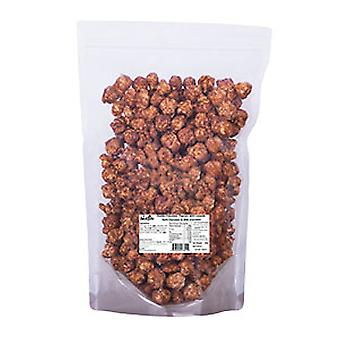 زبدة الفول السوداني والشوكولاته الفشار