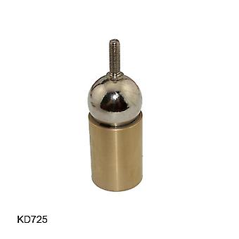 Kd725 3d Printer Socket Connection Steel Ball Brass Rod End With Thread Hole Magnetic Ball