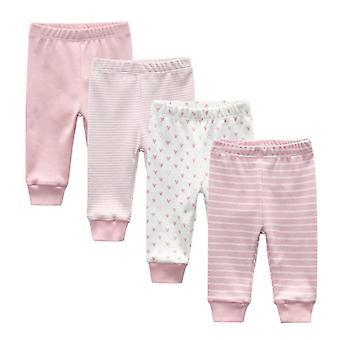 Newborn Pants Cartoon Four Seasons 100%cotton Soft Pants, Baby Trousers Pants