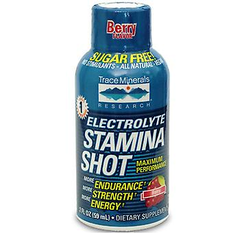 Trace Minerals Electrolyte Stamina Shot Berry Flavor, 2 Oz