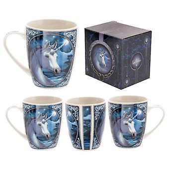 Fantasy Unicorn Design Porcelain Mug