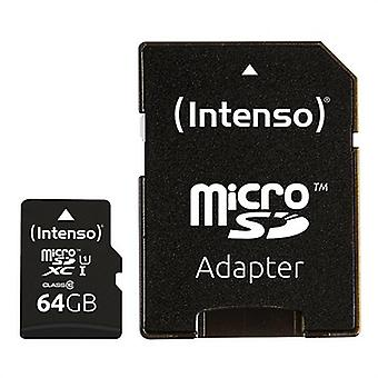 2-pack, Micro-SD-geheugenkaart met adapter INTENSO UHS-IXC