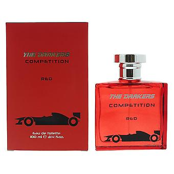 The Drakers Competition Red Eau de Toilette 100ml Spray For Him