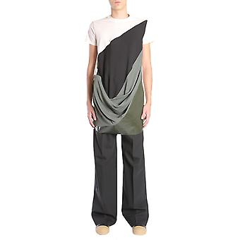 Rick Owens Rr18s5206compt291010 Men's Multicolor Cotton T-shirt