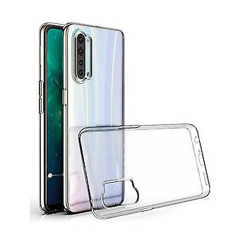 Hull For Oppo Find X2 Lite, High Quality Silicone Protective Cover, Transparent