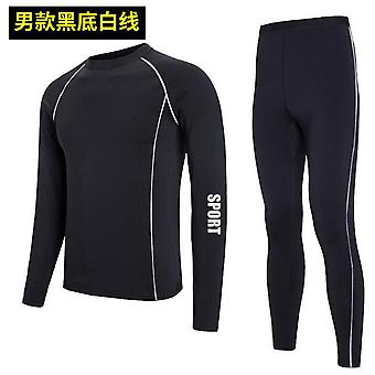 Winter Thermal Underwear Hommes Femmes Snowboard Suit Neige