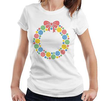 The Little Prince Christmas Festive Wreath Women's T-Shirt
