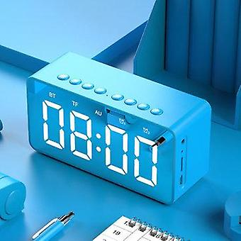 Bakeey BT506 Kablosuz bluetooth 5 Hoparlör LED Ekran Çift Çalar Saat