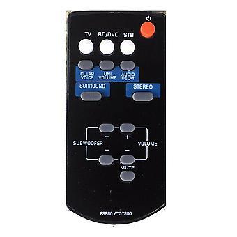 FSR60 WY57800 til fjernbetjening til Yamaha Sound Bar WY57800 YAS101 YAS101BL