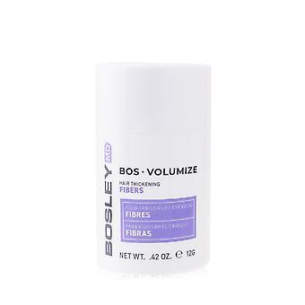 Bosley md bos volumize hair thickening fibers # dark brown 255797 12g/0.42oz