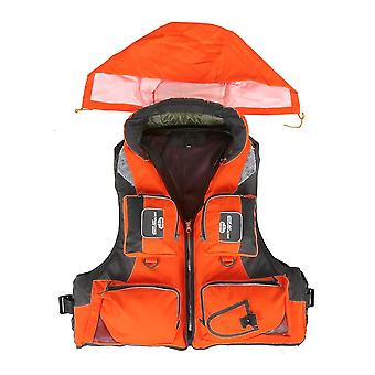 Vest Fishing, Polyester Safety Life Jacket For Adult, Swimming, Boating,