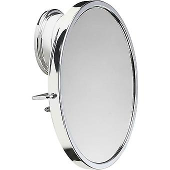 Croydex Anti-Fog Mirror Chrome Platedstick-N-Lock Plus Swivel, Silver QM285541