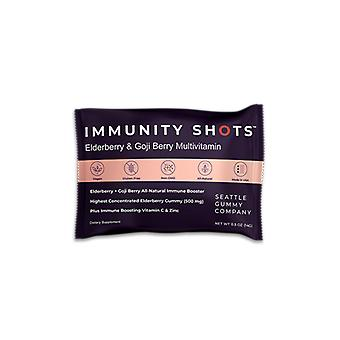 Immunity Shots Elderberry And Goji Berry Multivitamin