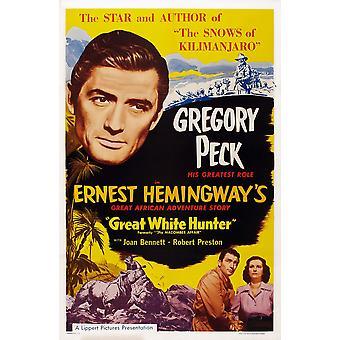 أن قضية ماكومبير لنا أسفل ملصق الفن أعلى غريغوري بيك ماستيربرينت ملصق الفيلم بينيت جوان 1947 غريغوري بيك