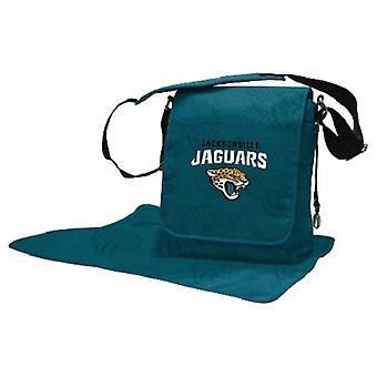 Jacksonville Jaguars NFL LilFan Diaper Messenger Bag