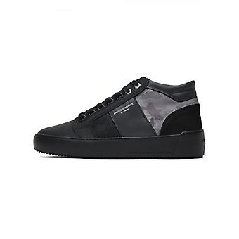 Android Homme Carbon Negro Camo Propulsion Mid Sneaker